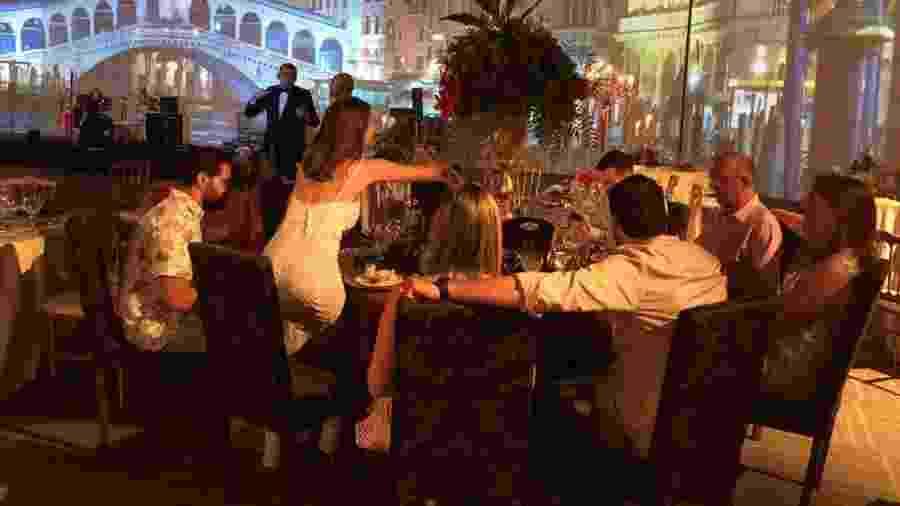 """Festa """"Uma Noite em Veneza"""", organizada no hotel Royal Tulip, em Brasília - Paulo Sampaio/UOL"""