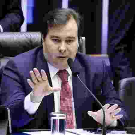 9.jul.2019 - Rodrigo Maia (DEM-RJ) conduz sessão que deve debater a reforma da Previdência  - Pablo Valadares/Câmara dos Deputados