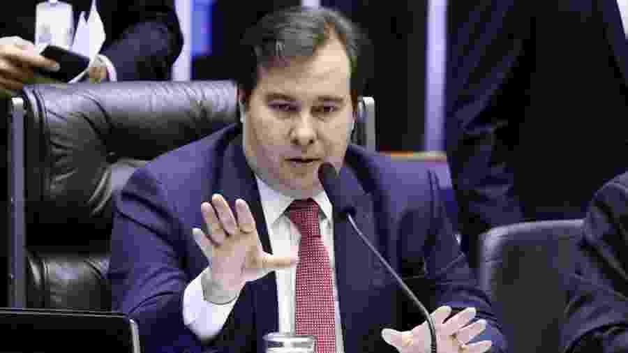 Maia citou problemas sociais e políticos que precisam ser levados em consideração para avançar com reforma tributária - Pablo Valadares/Câmara dos Deputados