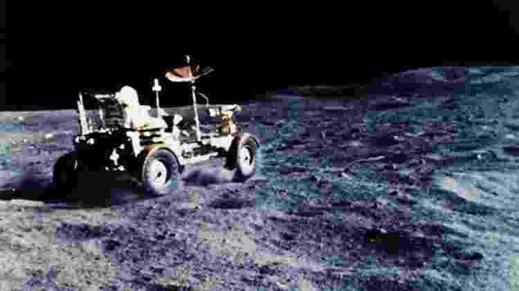 O veículo lunar foi usado em cada uma das últimas três missões Apollo - NASA