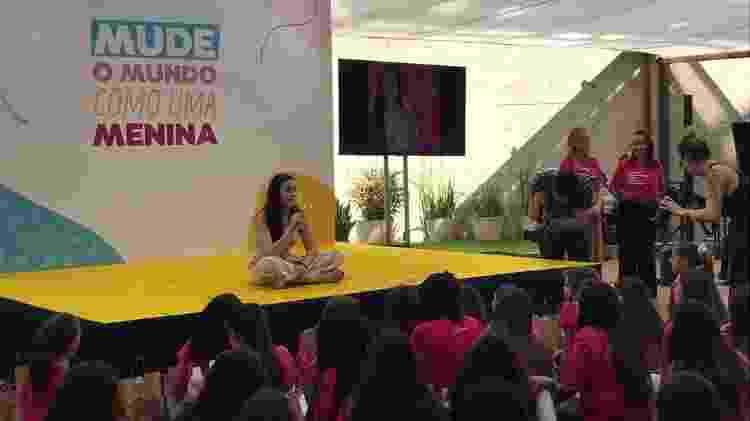 Rafaella ganhou uma viagem para os Estados Unidos como prêmio do Força Meninas - Bruna Souza Cruz/Tilt