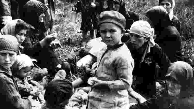 Os membros de Sonderkommando não tinham poder para salvar outros prisioneiros de Auschwitz - Getty Images