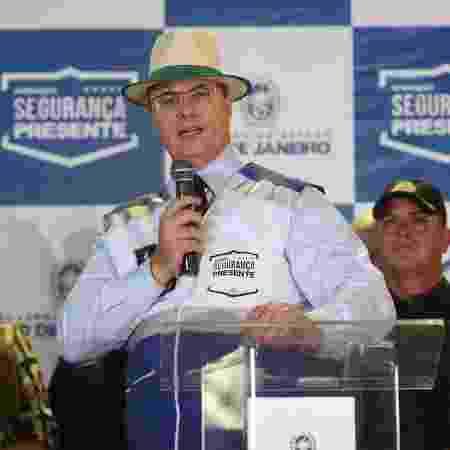 28.jan.2020 - Wilson Witzel em inauguração de base do Segurança Presente em Madureira, zona norte do Rio - Eliane Carvalho/Divulgação