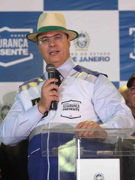 28.jan.2020 - Witzel em inauguração de base do Segurança Presente em Madureira - Eliane Carvalho/Divulgação