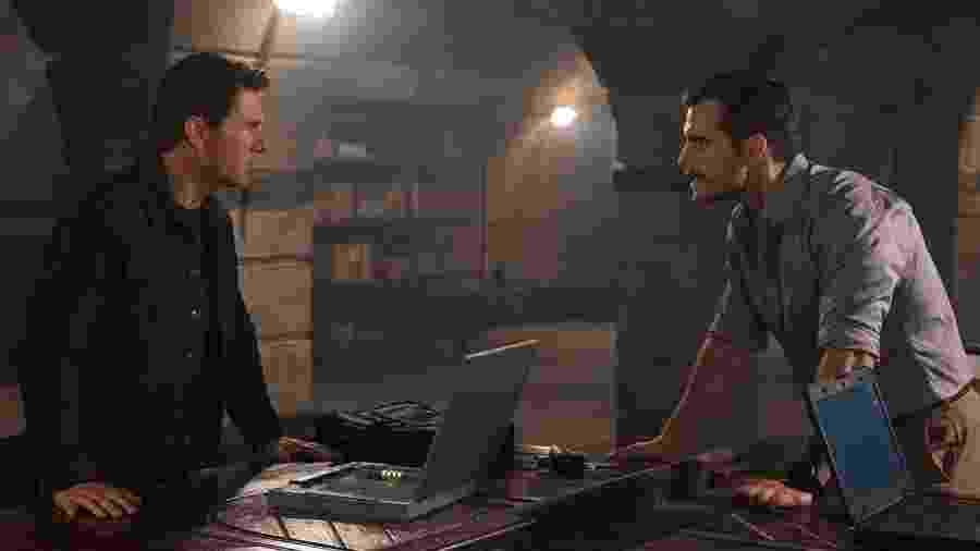 """Tom Cruise e Henry Cavill em cena de """"Missão: Impossível - Efeito Fallout"""" - Divulgação/Paramount Pictures"""