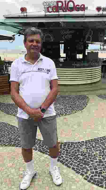 """Para Omar Silva, 72,  """"o brasileiro está acostumado a sofrer, encara melhor essas situações [pandemia]"""" - Paulo Sampaio/UOL"""