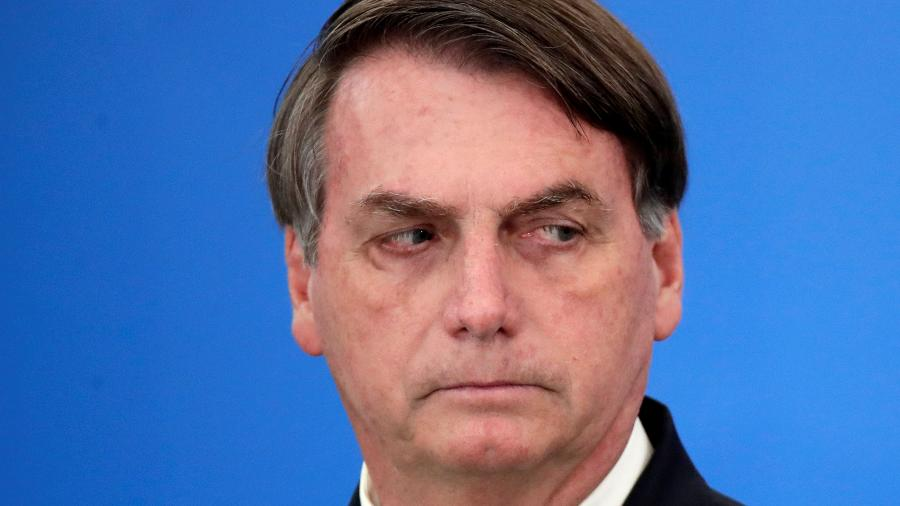 Presidente Jair Bolsonaro no Palácio do Planalto -