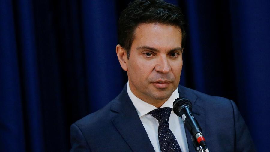 Alexandre Ramagem em Brasília - Reprodução