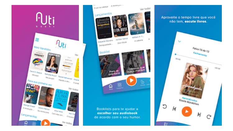 Auti books: baixe estes apps audiobook - Reprodução - Reprodução
