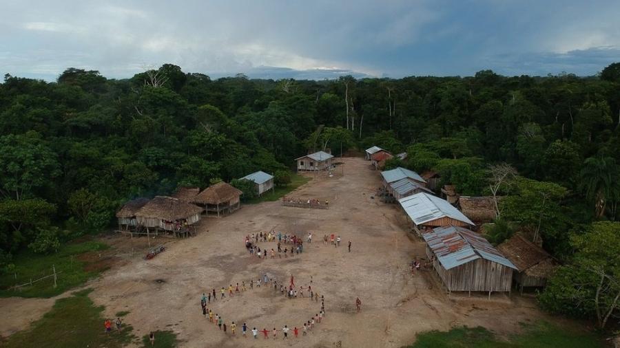 Em carta, indígenas brasileiros dizem querer ser incluídos em qualquer debate promovido pelos EUA para negociação sobre o meio ambiente do Brasil, sem a intermediação da administração de Jair Bolsonaro - Bruno Kelly/Amazônia Real