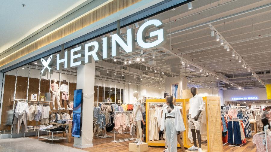 O movimento animou as ações da Hering, que fecharam o dia em alta de 26%, a R$ 28,62  - Divulgação