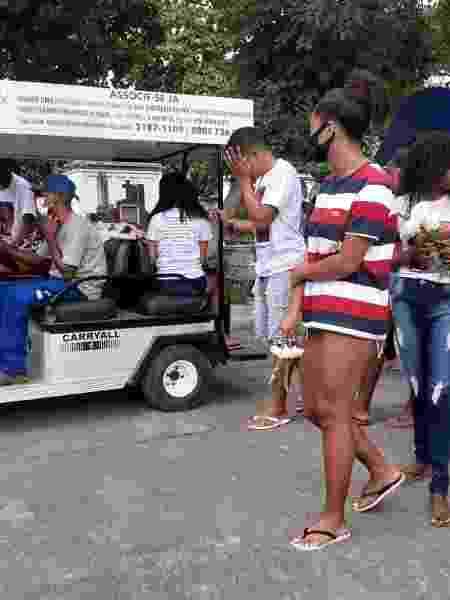Familiares e amigos se despedem de Jhonatan Araújo da Silva - Rai Aquino/UOL - Rai Aquino/UOL