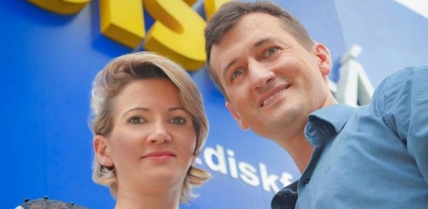 Os irmãos Karine e Edney Prigol compraram a Disk Fácil do ex-patrão há 11 anos