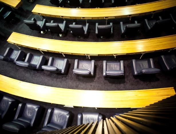 Das 55 cadeiras da Câmara Municipal de São Paulo, duas serão usadas por jovens