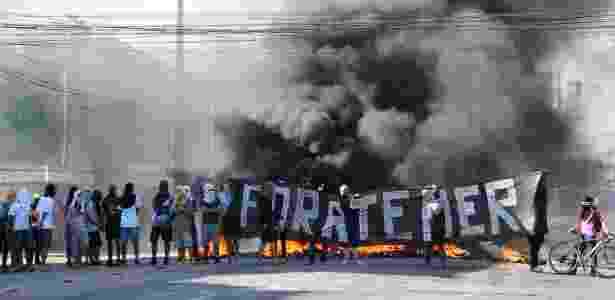 protesto pec recife - Marlon Costa/Futura Press/Estadão Conteúdo - Marlon Costa/Futura Press/Estadão Conteúdo