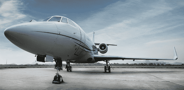 Foto de divulgação da empresa Líder Táxi Aéreo; o modelo não é necessariamente o que será usado pelo governador - Divulgação/Facebook