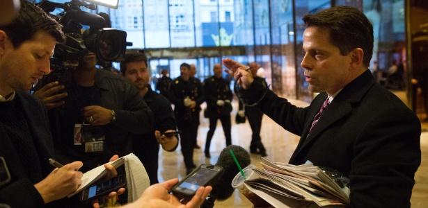 Anthony Scaramucci, ex-arrecadador de fundos de campanha para Donald Trump