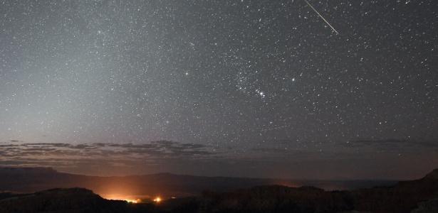 A chuva de meteoros Perseida é maior no hemisfério Norte, mas também pode ser vista no Brasil