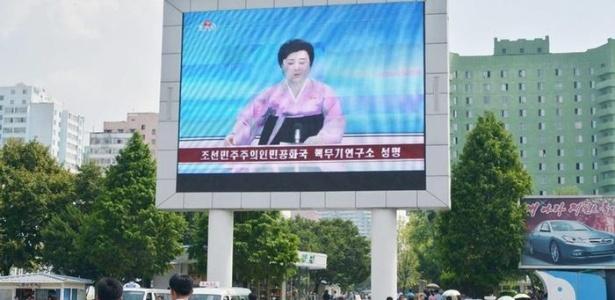 Mídia estatal é onipresente na Coreia do Norte