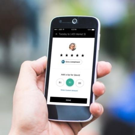 Usuários estariam dando nota mínima para motoristas na Uber para ganharem desconto - Reprodução