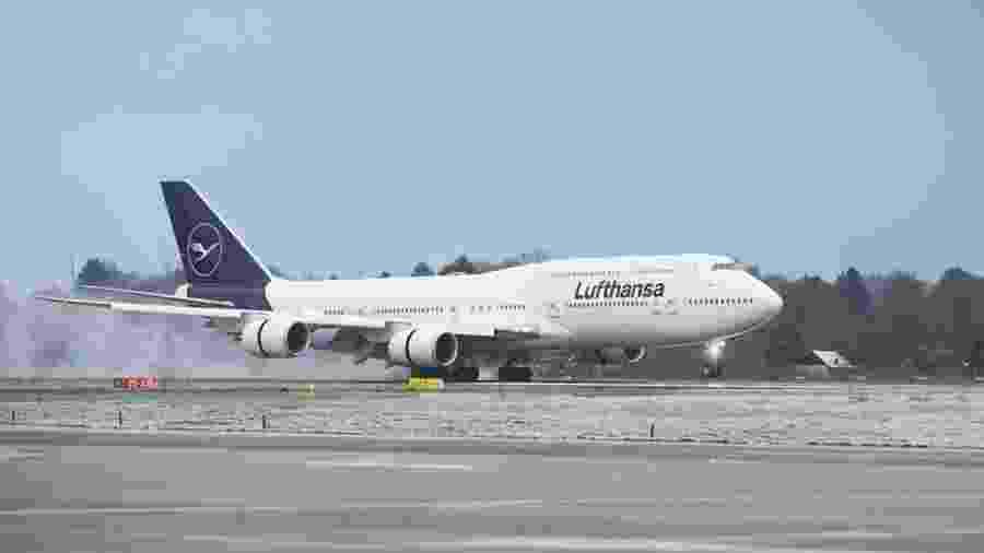 Avião da companhia aérea alemã Lufthansa  - Divulgação