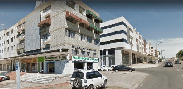 Fachada do prédio que o assaltante tentou escalar, em Brasília - Reprodução/Google Street View