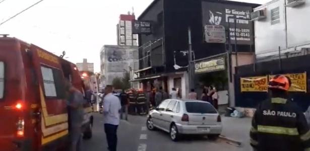 Mezanino desaba e deixa ao menos 26 feridos leves em evento infantil em Santo André - Reprodução/Viva ABC