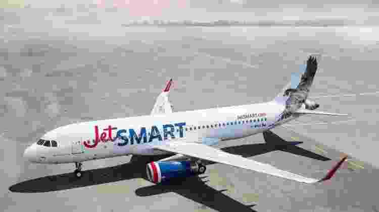 A chilena JetSmart terá voos de Santiago para Salvador, São Paulo e Foz do Iguaçu (PR) - Divulgação