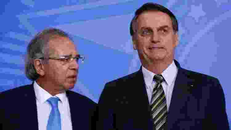 Programa Verde Amarelo foi lançado pelo ministro Paulo Guedes e pelo presidente Jair Bolsonaro no Palácio do Planalto - Carolina Antunes/PR/Agência Brasil - Carolina Antunes/PR/Agência Brasil