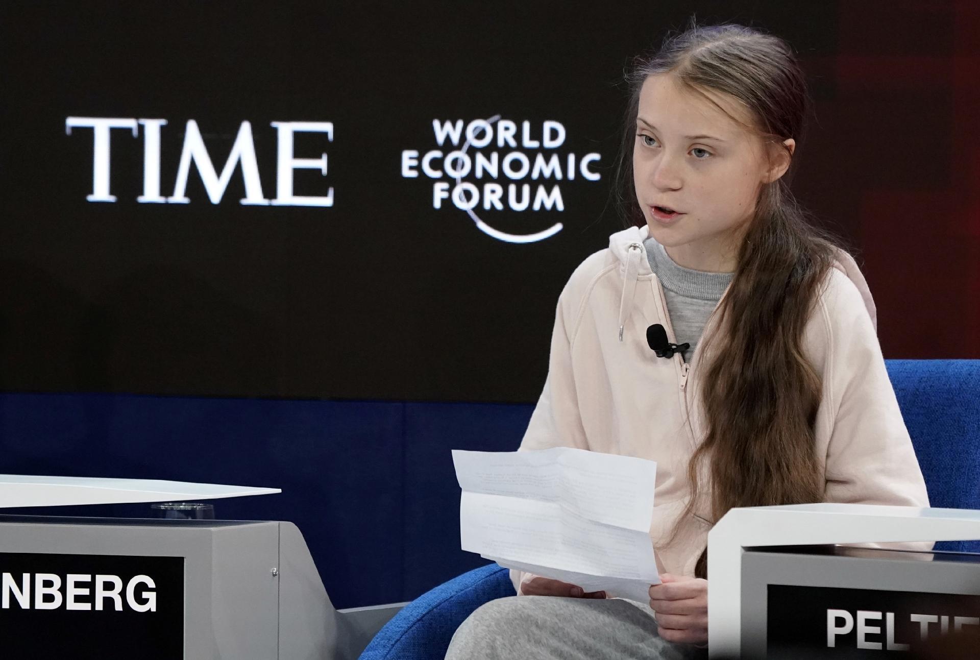 Não se fez nada' contra a mudança climática, diz Greta em Davos -  21/01/2020 - UOL Notícias