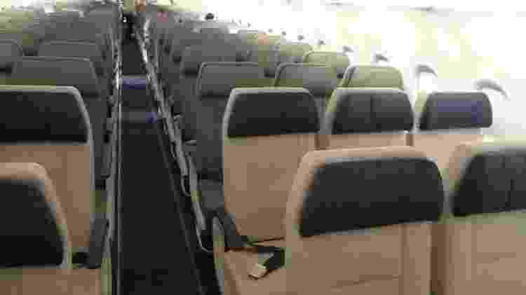 A321neo tem capacidade para 214 passageiros, sendo 42 no Espaço Azul - Vinícius Casagrande/UOL