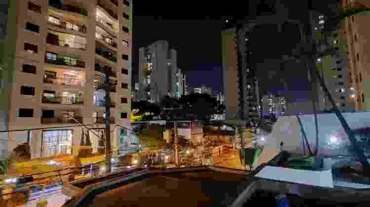 Lente grande angular do Galaxy A51 com modo noturno - Gabriel Francisco Ribeiro/UOL - Gabriel Francisco Ribeiro/UOL