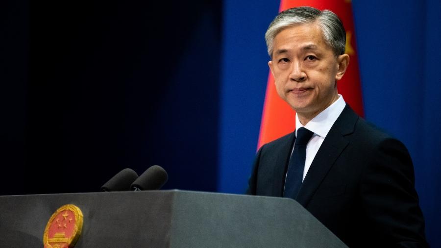 Wang Wenbin, porta-voz do Ministério de Relações Exteriores da China - Artyom Ivanov/TASS via Getty Images