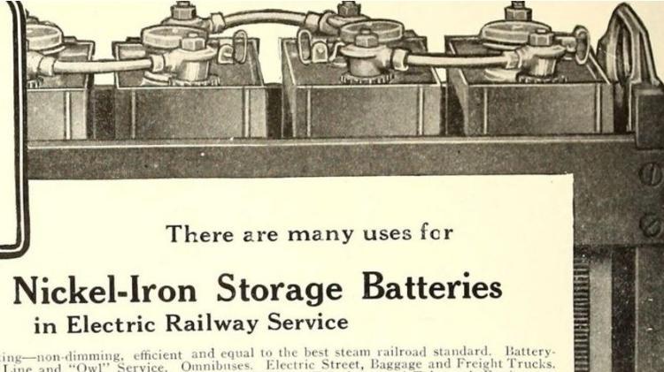 O que costumava ser uma peculiaridade perigosa da bateria de Thomas Edison, acabou se revelando extremamente útil - Alamy - Alamy