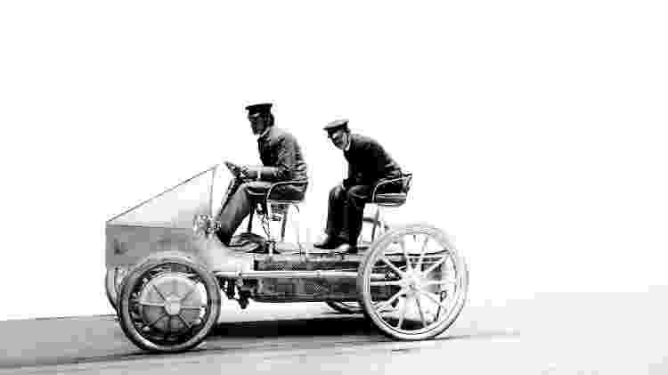 Lohner-Porsche race car - Divulgação  - Divulgação