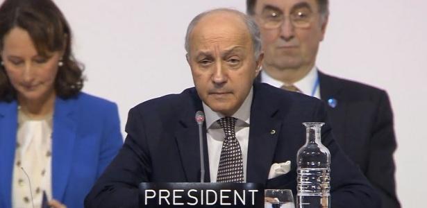 Presidente da COP-21 anuncia proposta final de acordo climático - Reprodução