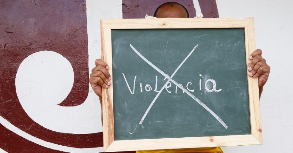 """""""Mesmo não sofrendo diretamente, a violência é uma preocupação de todos os paulistanos""""."""