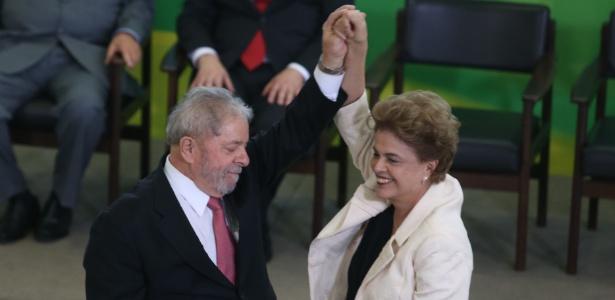 Lula assinou o termo de posse, mas decisões judiciais impedem o exercídio do cargo