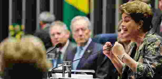 """Dilma: """"Eu não sou duas mulheres, eu sou uma mulher. Por isso me referi à minha vida - Edilson Rodrigues/Agência Senado"""
