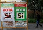 """Referendo constitucional na Itália faz surgir o espectro do """"Italexit"""" - Tony Gentile/Reuters"""