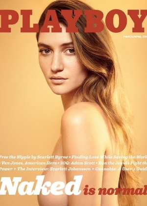 """""""Nudez é normal"""", escreve a Playboy em sua capa"""