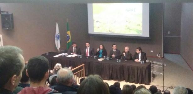 04.jul.2017 - Procuradores da Operação Lava Jato participam de debate em Curitiba