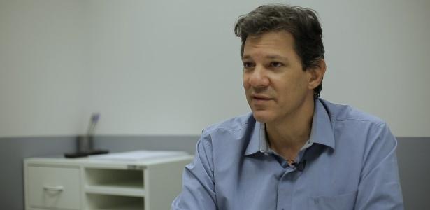 Ex-prefeito de São Paulo, Fernando Haddad