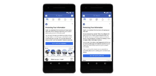 Facebook vai começar a avisar usuários afetados pela Cambridge Analytica - Reprodução - Reprodução
