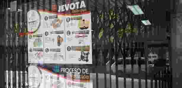 Cartazes bilíngues em Assunção - Bruno Aragaki/UOL - Bruno Aragaki/UOL
