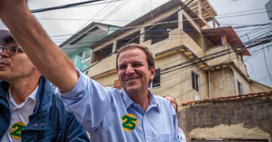 26.10.2018 , BRASIL , Candidato ao governo do estado Eduardo Paes durante campanha