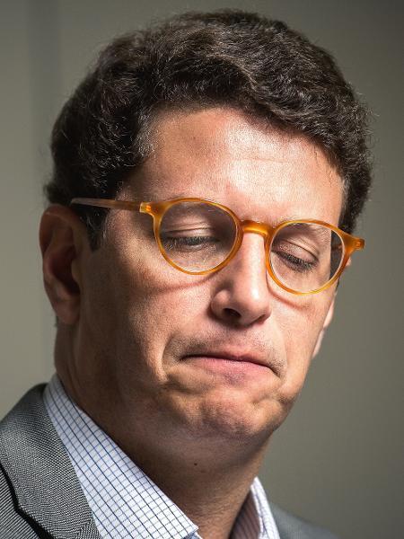 Ministro do Meio Ambiente Ricardo Salles - Lucas Seixas/UOL