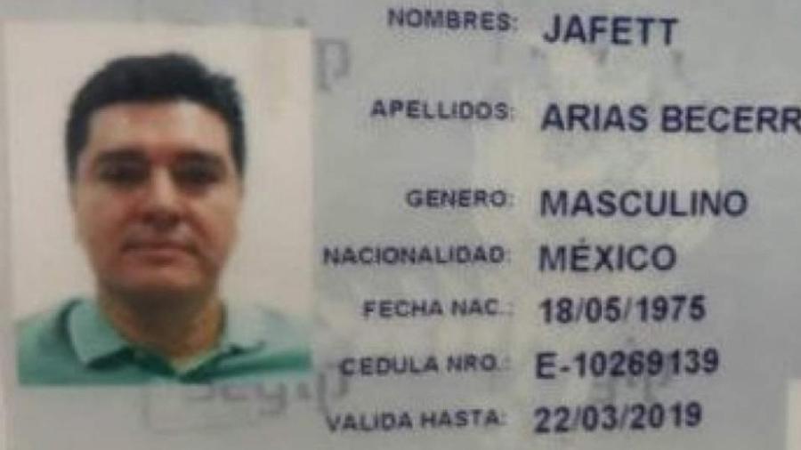 O mexicano José González Valencia, 43, foi preso no Brasil em 27 dezembro de 2017. Ele portava documentos falsos - Divulgação/Polícia Federal