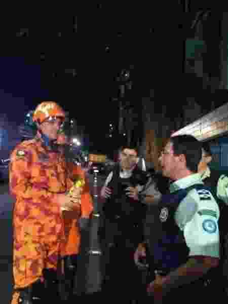 Coronel Eduardo Holanda, comandante do Corpo de Bombeiros de Fortaleza - Cristiane Bonfim/UOL