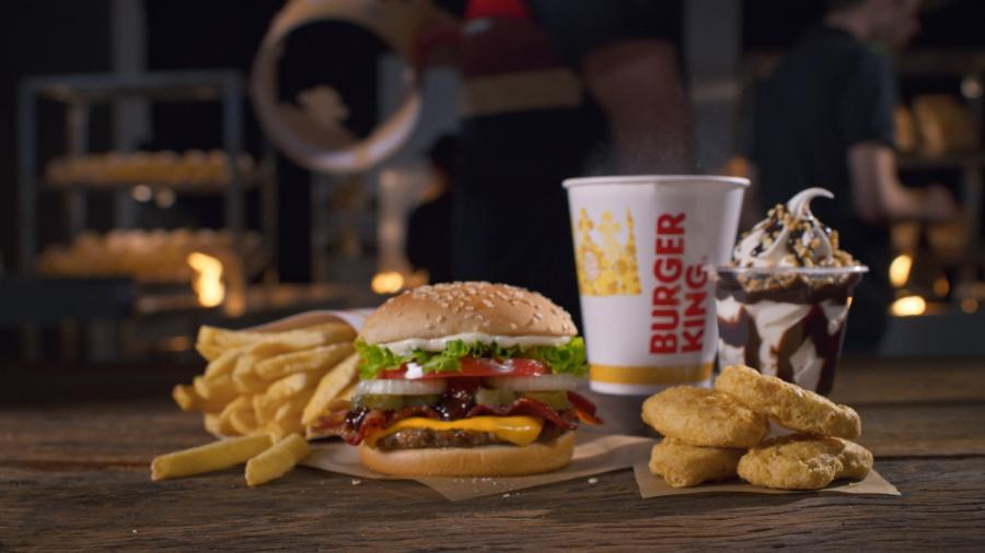Super Combo do Burger King - Divulgação